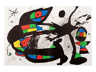 [DERRIERE LE MIROIR - MIRO]. A group of 5 Joan Miro issues, comprising: