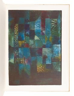 [KLEE, Paul (1879-1940)]. Paul Klee: Ten Colour Collotype Reproductions of his Works. London: Lund Humphries, 1957.