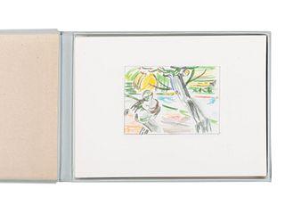LICHTENSTEIN, Roy (1923-1997). Landscape Sketches 1984-1985. New York: Abrams, 1986.