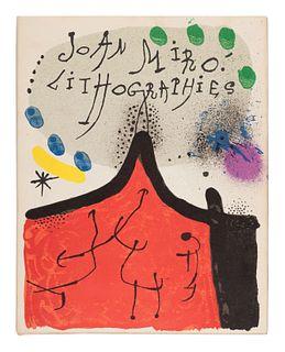 MIRO, Joan (1893-1974). Joan Miro. Lithographs. Vol.I: New York: Tudor Publishing Company, 1972; Vol.II: New York: Leon Amiel Publisher, 1975; Vol.III