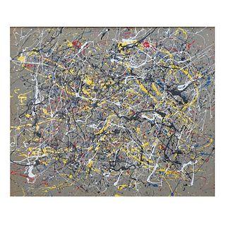 Mid 20th Century Oil on Canvas