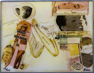 """Larry Rivers """"Tanfastic"""" Offset Lithograph"""