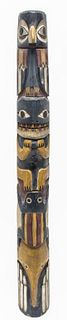 Northwest Coast Native American Totem Pole