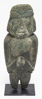 Mezcala Pre-Columbian Carved Stone Figure