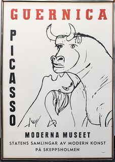 Pablo Picasso Moderna Museet Exhibition Poster