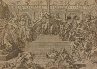 NICHOLAS BEATRIZET (FRENCH, 1515-1573).