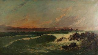 HENRY MOORE (BRITISH, 1831-1895).