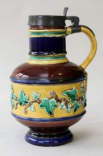 Wedgewood Majolica Pitcher