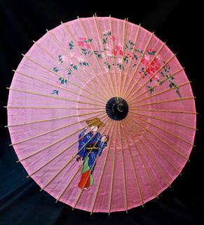 Vintage Japanese Parasols