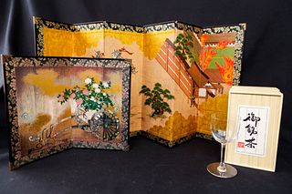 Japanese Screens and Glass