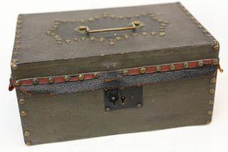 Antique Lock Box