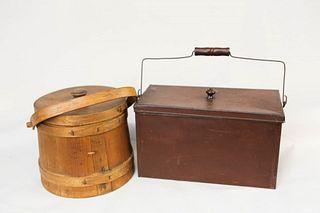 Tin Box and Firkin
