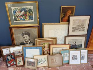 Currier and Ives and Assorted Printed Works