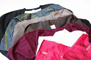 6 Vintage Japanese Kimonos