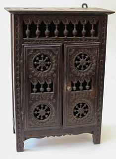 Miniature Doll Cabinet