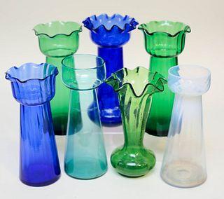 Seven Hyacinth Vases
