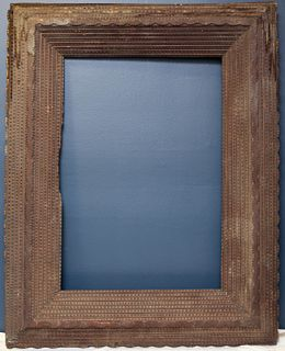 Large Tramp Art Frame