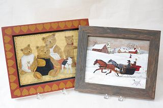 Two Folk Art Works