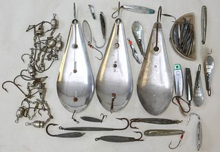Fishing Lures, Spoons and Hooks