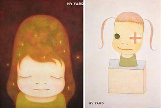 2 Yoshitoma Nara Posters