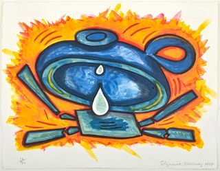 """Elizabeth Murray """"Charlotte"""" Lithograph, Signed Edition"""