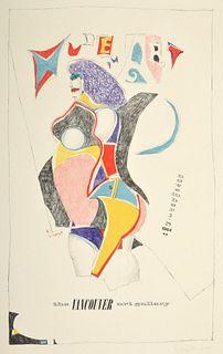 "Richard Linder ""Vancouver Art Gallery"" Poster, Signed"