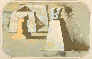 Fernando Maza Lithograph, Signed Edition