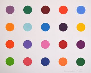 Damien Hirst Woodcut, Signed Edition