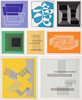 "65 Josef Albers ""Formulation: Articulation"" Screenprints"