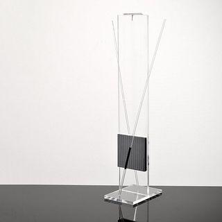 Jesus Rafael Soto Op Art Kinetic Sculpture, Signed Edition
