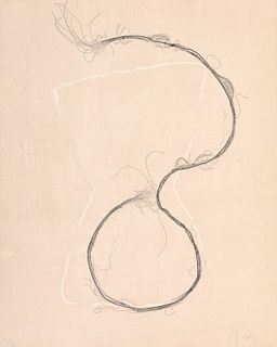 "Francois Fiedler ""Rope"" Etching, Signed Edition"