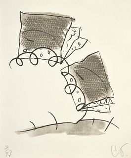 Claes Oldenburg Lithograph, Signed Edition