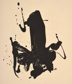 Robert Motherwell Lithograph, Signed Edition