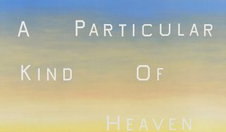 """Ed Ruscha """"A Particular Kind of Heaven"""" Poster, Signed"""