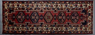 Semi-Antique Northwest Persian Runner, 3' 6 x 9' 5.