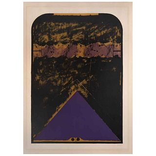 """VICENTE ROJO, Untitled, Signed and dated 69, Lithography 53 / 100, 24.8 x 17.3"""" (63 x 44 cm)"""