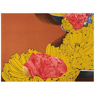 """ANA MERCEDES HOYOS, Bazurto 1, Signed and dated 05, Lithography 2 / 75, 22 x 29.9"""" (56 x 76 cm)"""