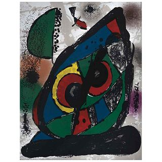 """JOAN MIRÓ, Untitled, from the suite of 5 Litografías originales, 1982, Unsigned, Lithography without print number, 12.5 x 9.8"""" (32 x 25 cm)"""
