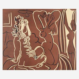 Pablo Picasso (Spanish 1881-1973) Trois Femmes