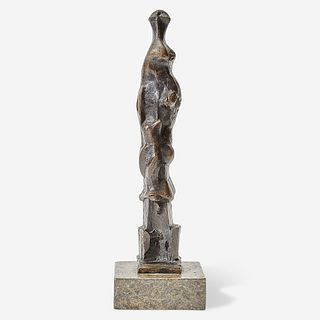 Henry Moore (British, 1898-1986) Upright Motive E