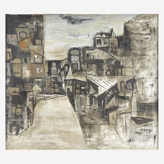 Ram Kumar (Indian, 1924-2018) Benares
