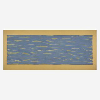 Sol LeWitt (American, 1928-2007) Horizontal Brushstrokes (More or Less)