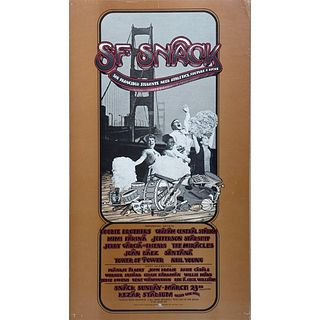 SF Snack and Buffalo Springfield/Hour GlassConcert Posters