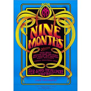 Nine Months Wrap Party and Marilyn Manson Concert Posters