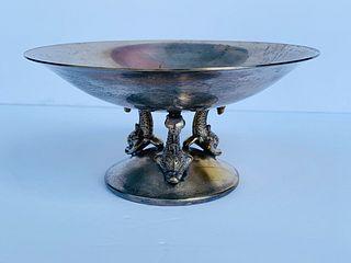 Silver plated bowl by Visiuc SA Spain