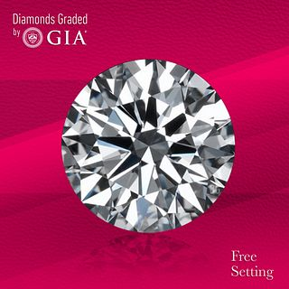1.50 ct, H/VVS2, Round cut GIA Graded Diamond. Unmounted. Appraised Value: $26,800