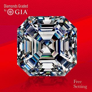 3.11 ct, G/VVS1, Sq. Emerald cut GIA Graded Diamond. Unmounted. Appraised Value: $128,000