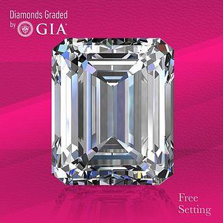 1.50 ct, H/VS2, Emerald cut GIA Graded Diamond. Unmounted. Appraised Value: $17,100