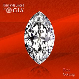 3.80 ct, D/IF, TYPE IIa Marquise cut GIA Graded Diamond. Unmounted. Appraised Value: $372,000