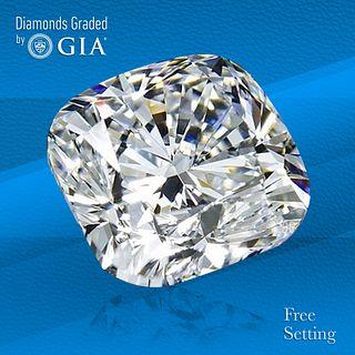 2.02 ct, E/VVS2, Cushion cut GIA Graded Diamond. Unmounted. Appraised Value: $59,000